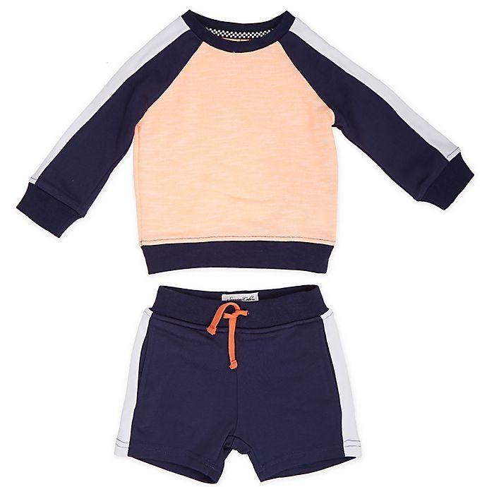 Alternate image 1 for Sovereign Code® 2-Piece Stan + Deliver Sweatshirt and Short Set