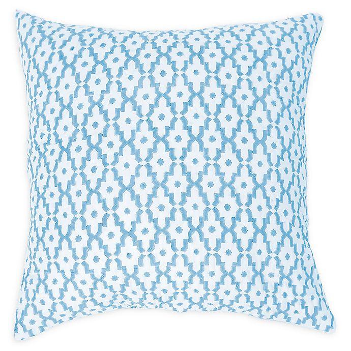 Alternate image 1 for Carol & Frank Talley European Pillow Sham in Blue