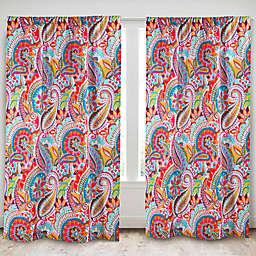 Levtex Home Sakari 84-Inch Rod Pocket Window Curtain Panel