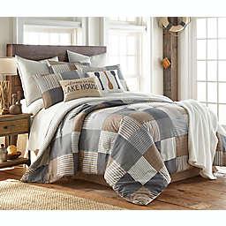 Vintage Patch 8-Piece Reversible Comforter Set