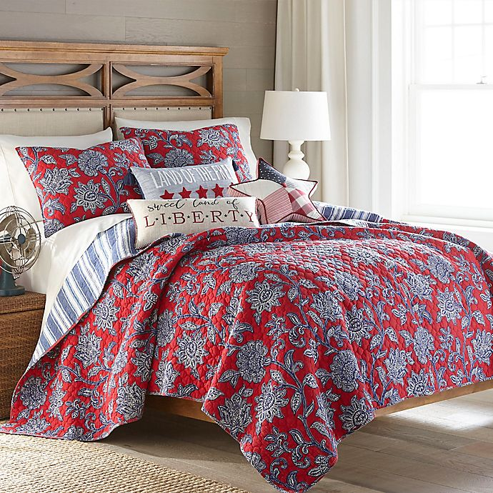Alternate image 1 for Levtex Home Meridian Hill 3-Piece Reversible Quilt Set