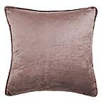 Wamsutta® Velvet Piping Square Throw Pillow in Blush