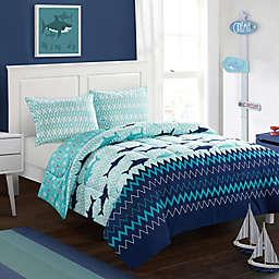 American Kids Sea Shark Comforter Set