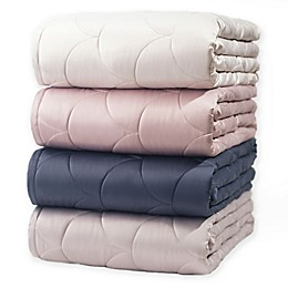 Nikki Chu Reversible Brushed Velvet Down Alternative Blanket