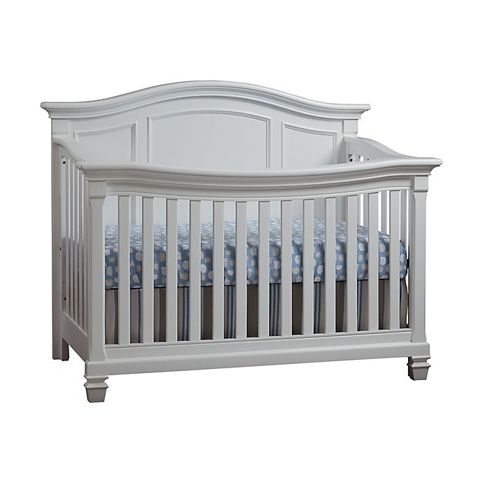 Alternate image 1 for Baby Cache Glendale 4-In-1 Convertible Crib in Pure White