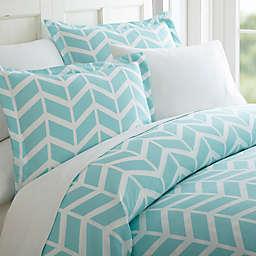 Elegant Comfort Arrow King Sheet Set in Turquoise