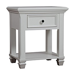 Baby Cache Glendale Nighstand in Pure White
