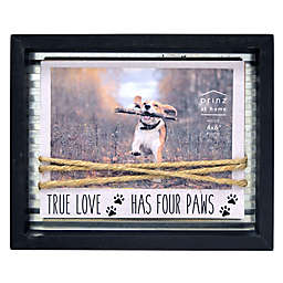 Prinz 4-Inch x 6-Inch Dog Paws Rope Frame