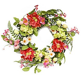 Puleo International 20-Inch Artificial Easter Wreath