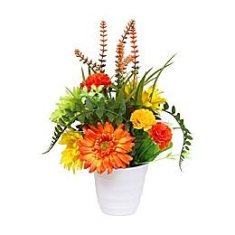 Puleo International Artificial Flower Arrangement in Pot
