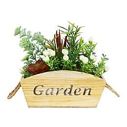 Puleo International Artificial Flower & Succulent Arrangement in Planter