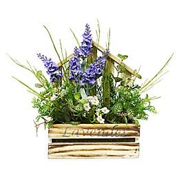 Puleo International Artificial Floral Arrangement in Planter
