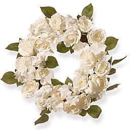National Tree Company® 16-Inch Artificial Rose Wreath