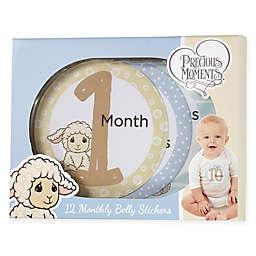 Precious Moments® 12-Piece Luffie Lamb Monthly Milestones Sticker Set