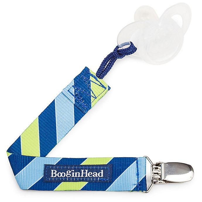 Alternate image 1 for BooginHead® PaciGrip Pacifier Strap in Blue/Green Leapfrog