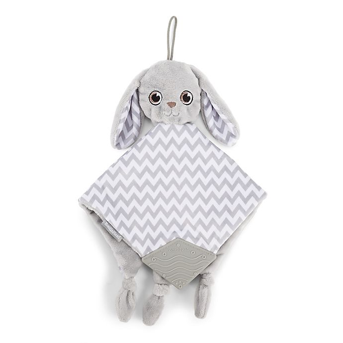 Alternate image 1 for BooginHead PaciPal Teether Blanket with Pacifier Holder in Grey