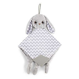 BooginHead PaciPal Teether Blanket with Pacifier Holder in Grey