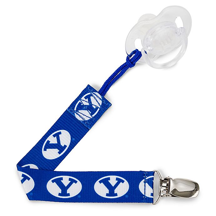 Alternate image 1 for Brigham Young  University PaciGrip Pacifier Strap