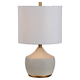Ren-Wil Horme Table Lamp in Grey/Gold