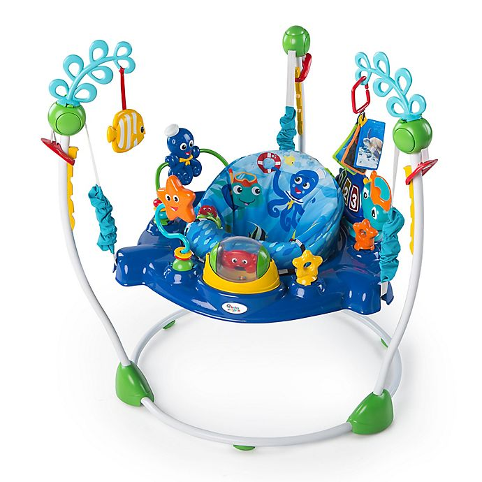 Alternate image 1 for Baby Einstein™ Neptune's Ocean Discovery Jumper