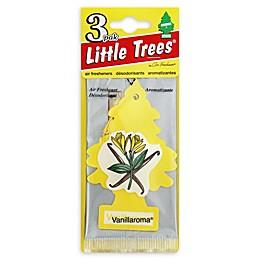 Little Trees 3-Pack Car Fresheners in Vanillaroma