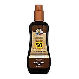 Australian Gold® 8 fl. oz. Spray Gel Sunscreen with Instant Bronzer SPF 50