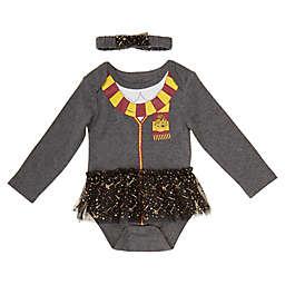 Harry Potter™ 2-Piece Tutu Bodysuit and Headband Set in Grey