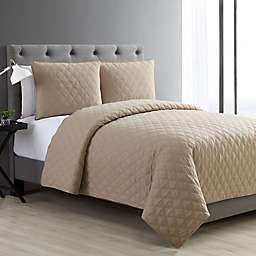 VCNY Home Buckingham Diamond 3-Piece Coverlet Set