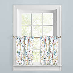 Meadow Blooms Window Curtain Tier Pair