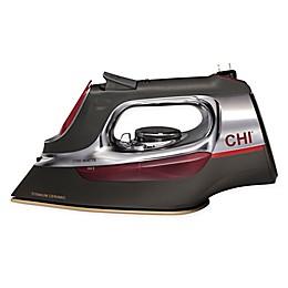 Hamilton Beach® CHI Retractable Cord Iron in Red