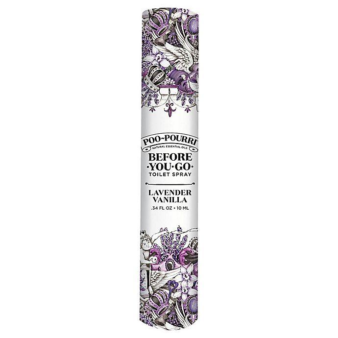 Alternate image 1 for Poo-Pourri® Before-You-Go® 10 mL Toilet Spray in Lavender Vanilla