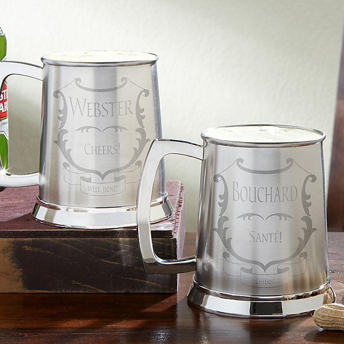 Alternate image 1 for To Your Health! 20 oz. Stainless Steel Tankard