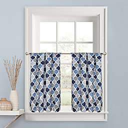 Priya Kitchen Window Curtain Tier Pair