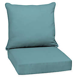Arden Selections™ Surf Canvas Outdoor Deep Seat Cushion in Blue