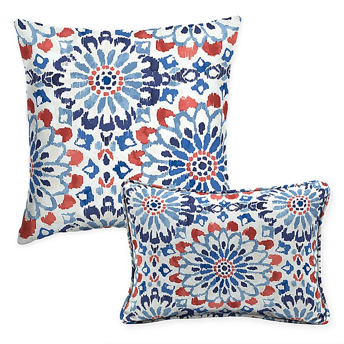 Selections By Arden Clark Outdoor Throw Pillow In Cream Bed Bath