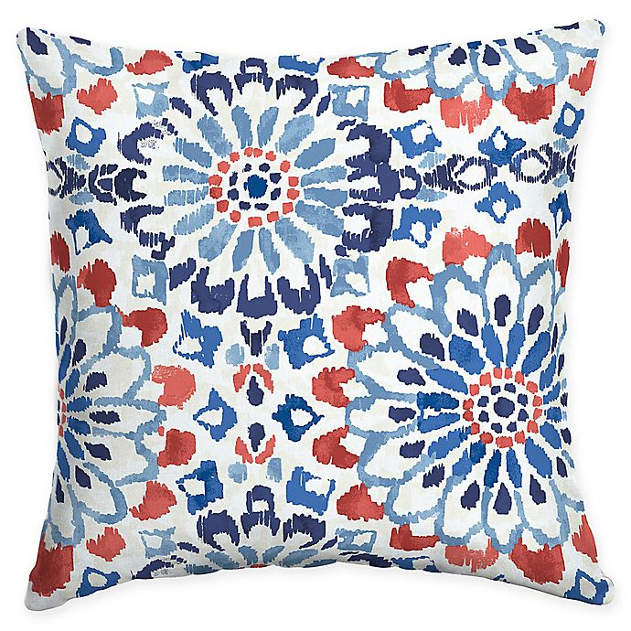 Alternate image 1 for Selections by Arden Clark Square Outdoor Throw Pillow