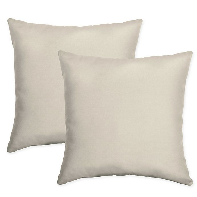 Arden Selections 16 Inch Square Indoor Outdoor Throw Pillows In