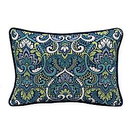 Arden Selections™ Aurora Damask Oblong Lumbar Pillows in Blue (Set of 2)