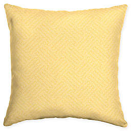 Arden Selections Shirt Texture Square Throw Pillows in Yellow (Set of 2) 08761e077