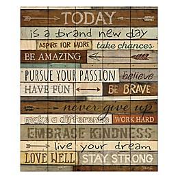 P. Graham Dunn Brand New Day Wood Wall Art
