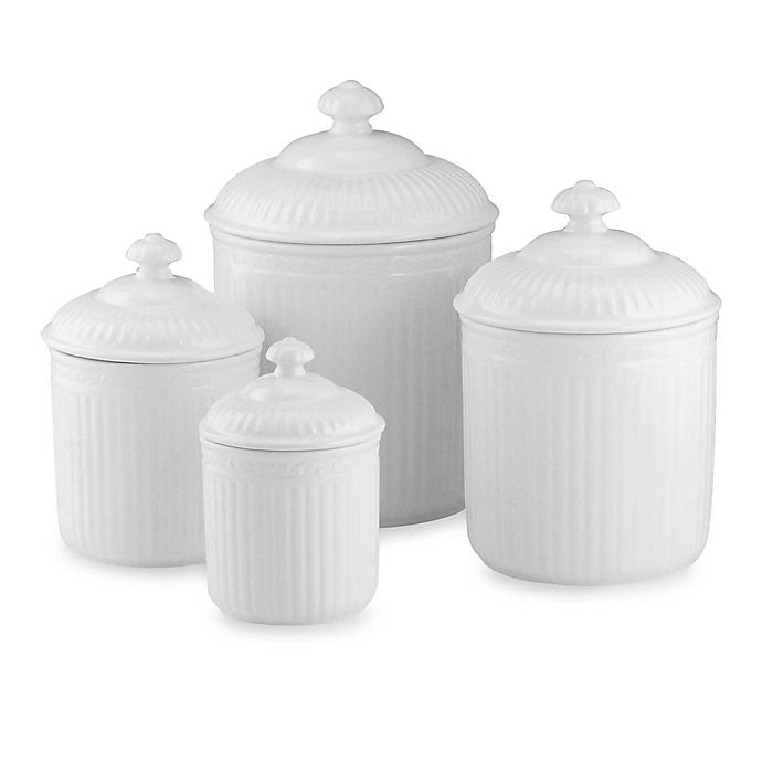 Alternate image 1 for Mikasa® Italian Countryside 4-Piece Canister Set