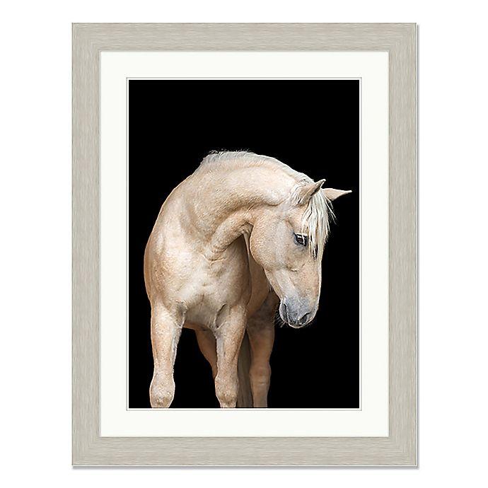 Alternate image 1 for Regal Horse 35-Inch x 45-Inch Framed Wall Art