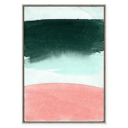 Abstract Moods 33.75-Inch x 23.75-Inch Framed Canvas Wall Art