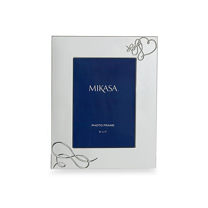 Mikasa Love Story 5 Inch X 7 Inch Photo Frame Bed Bath Beyond