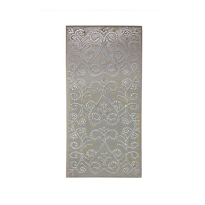 Alternate image 1 for Fetco Rahan Mirror Mosaic Wall Art in Silver
