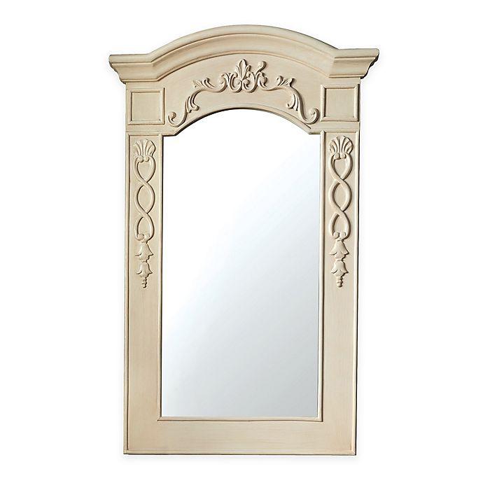 Alternate image 1 for James Martin Furniture 24-Inch x 40-Inch European Traditions Mirror in Vanilla