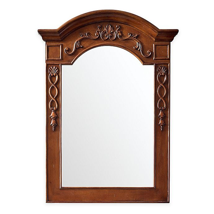 Alternate image 1 for James Martin Furniture 29-Inch x 40-Inch European Traditions Mirror in Cherry