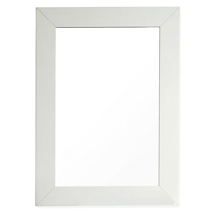 Alternate image 1 for James Martin Furniture 29-Inch x 40-Inch Weston Mirror in Cottage White