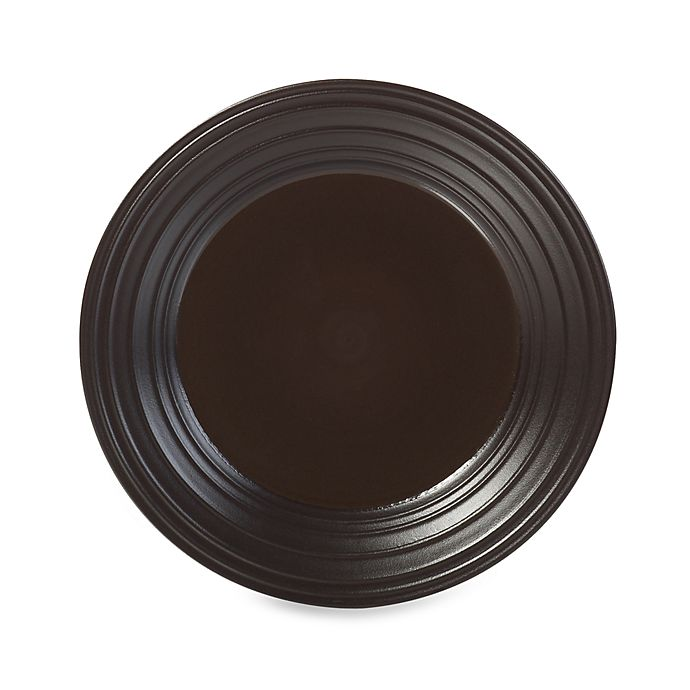Alternate image 1 for Mikasa® Swirl 8.5-Inch Salad Plate in Chocolate