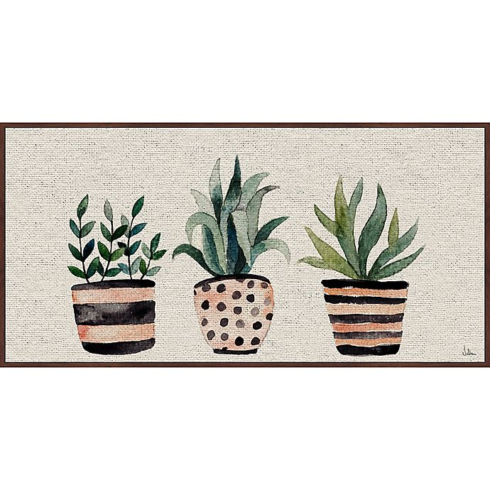 Alternate image 1 for Marmont Hill Three Plants 60-Inch x 30-Inch Framed Wall Art